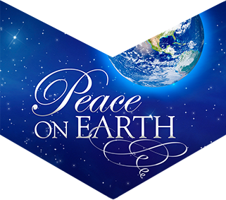 Poster art for Peace on Earth event